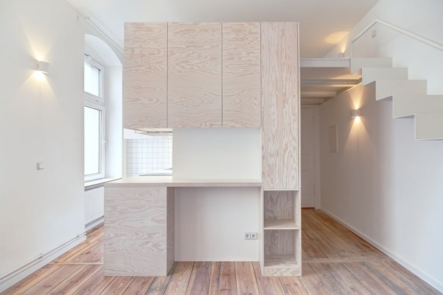 Micro-apartment in Berlin-Moabit by Spamroom + Johnpaulcoss