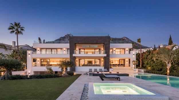 Villa Mozart in Sierra Blanca, Marbella