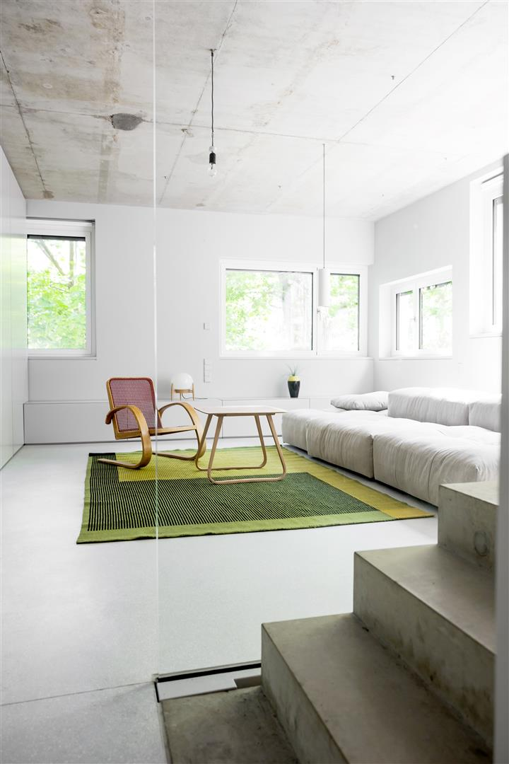 Awesome  ucThe design of a newly built home in the Prenzlauer Berg district of Berlin has used furniture designed and made by Loft Kolasinski a bed a chaise longue