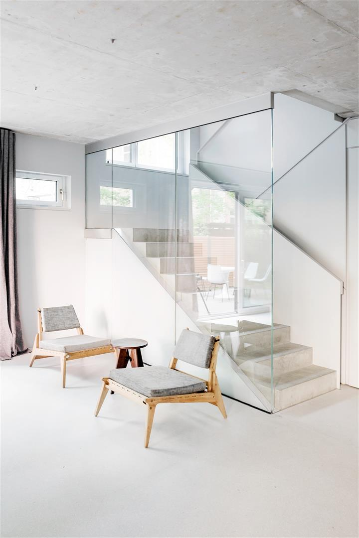 Best  ucThe design of a newly built home in the Prenzlauer Berg district of Berlin has used furniture designed and made by Loft Kolasinski a bed a chaise longue