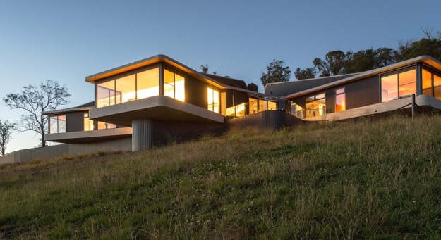 High Country House by Luigi Rosselli