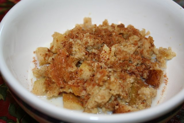 Baked Apple Cinnamon Oatmeal | myhumblekitchen.com