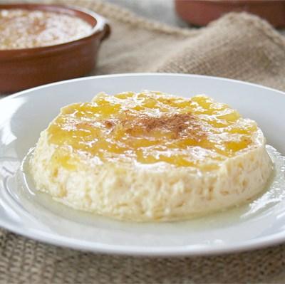 An Odd Bit Recipe: Sweet Marrow Custard (Flan) with a Mango Jam