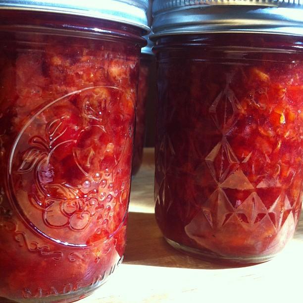 Cherry-Vanilla Jam Recipe