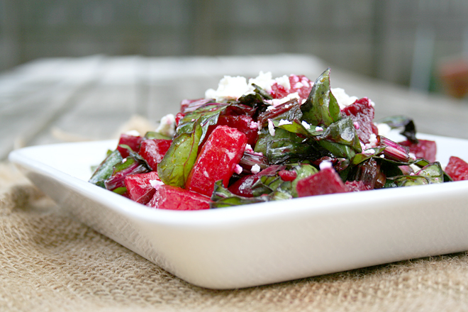 A Roasted Beet and Watermelon Salad For Those Late Summer Days