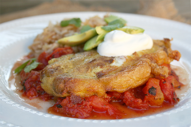 A Recipe for Traditional, Mexican Chile Rellenos