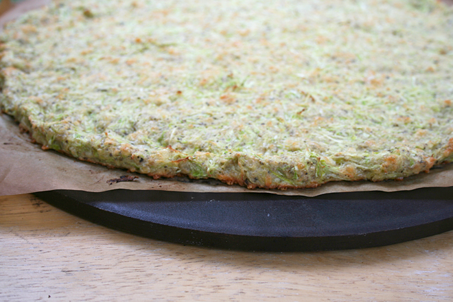 The Best Zucchini Recipe Ever - Zucchini Crust Pizza | myhumblekitchen.com