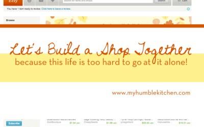 Let's Build a Shop Together