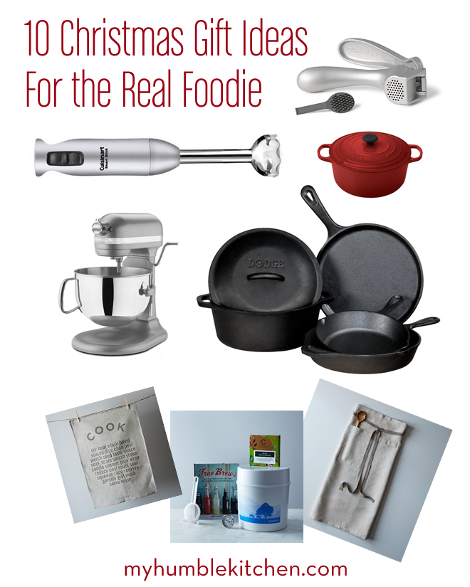 10 Christmas Gift Ideas for the Real Foodie | myhumblekitchen.com