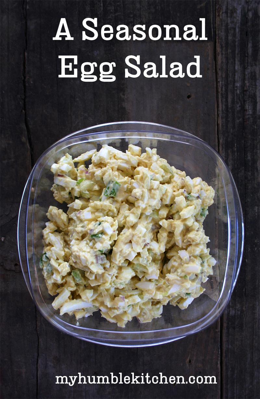 A Simple and Seasonal Egg Salad Recipe | myhumblekitchen.com