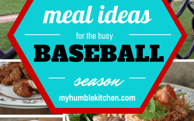 25 Meal Ideas For the Busy Baseball Season + Chicken Fried Rice Recipe in the Rice Cooker!