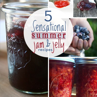 5 Sensational Summer Jam and Jelly Recipes