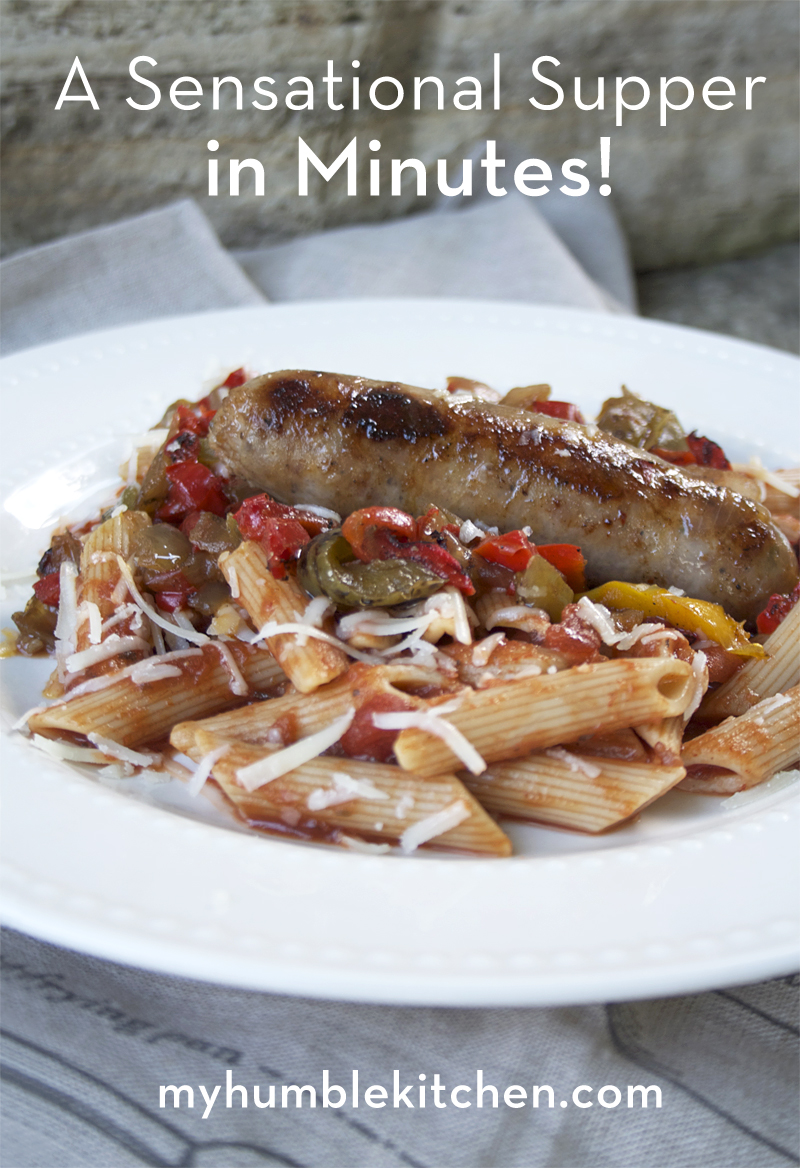 A Sensational Supper in 15 Minutes! | myhumblekitchen.com