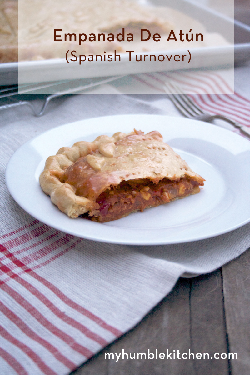 Empanada de Atún - A Spanish Turnover | myhumblekitchen.com
