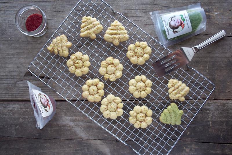 Honey Sweetened, Einkorn Spritz Cookies and Giveaway!