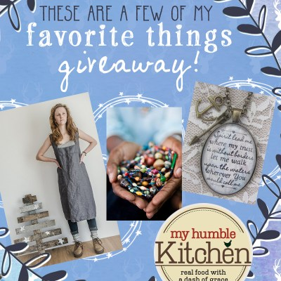 My Favorite Things Giveaway … and More!