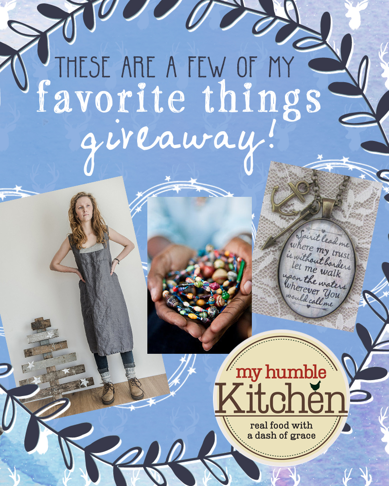 My Favorite Things Giveaway - Day 3 | myhumblekitchen.com