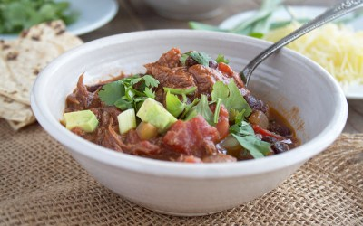A Mexican, Chicken Mole Chili