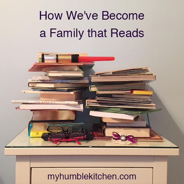 How we've Become a Family that Reads
