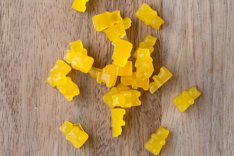 Homemade Gummy Bear Treats | myhumblekitchen.com