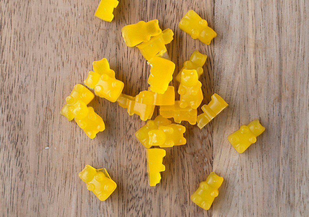 Homemade Gummy Bear Treats