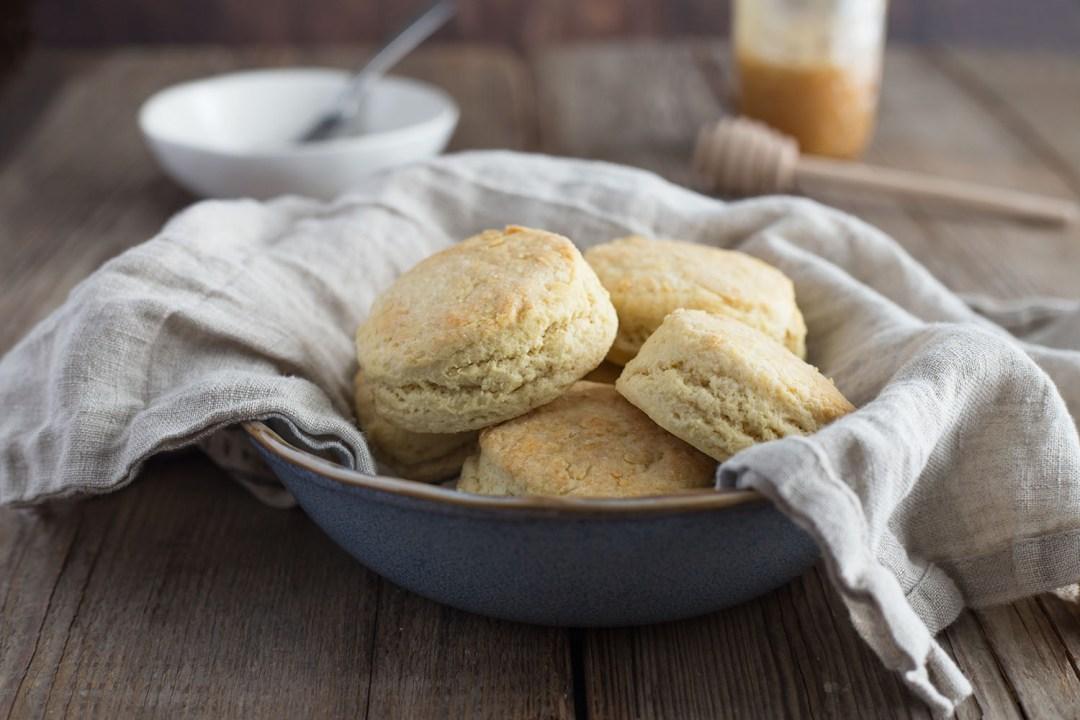 Quick Bake Einkorn Biscuits