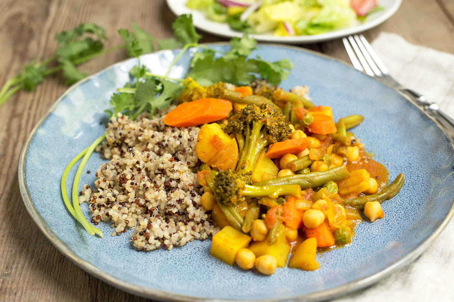 A Healthy Vegetable Curry