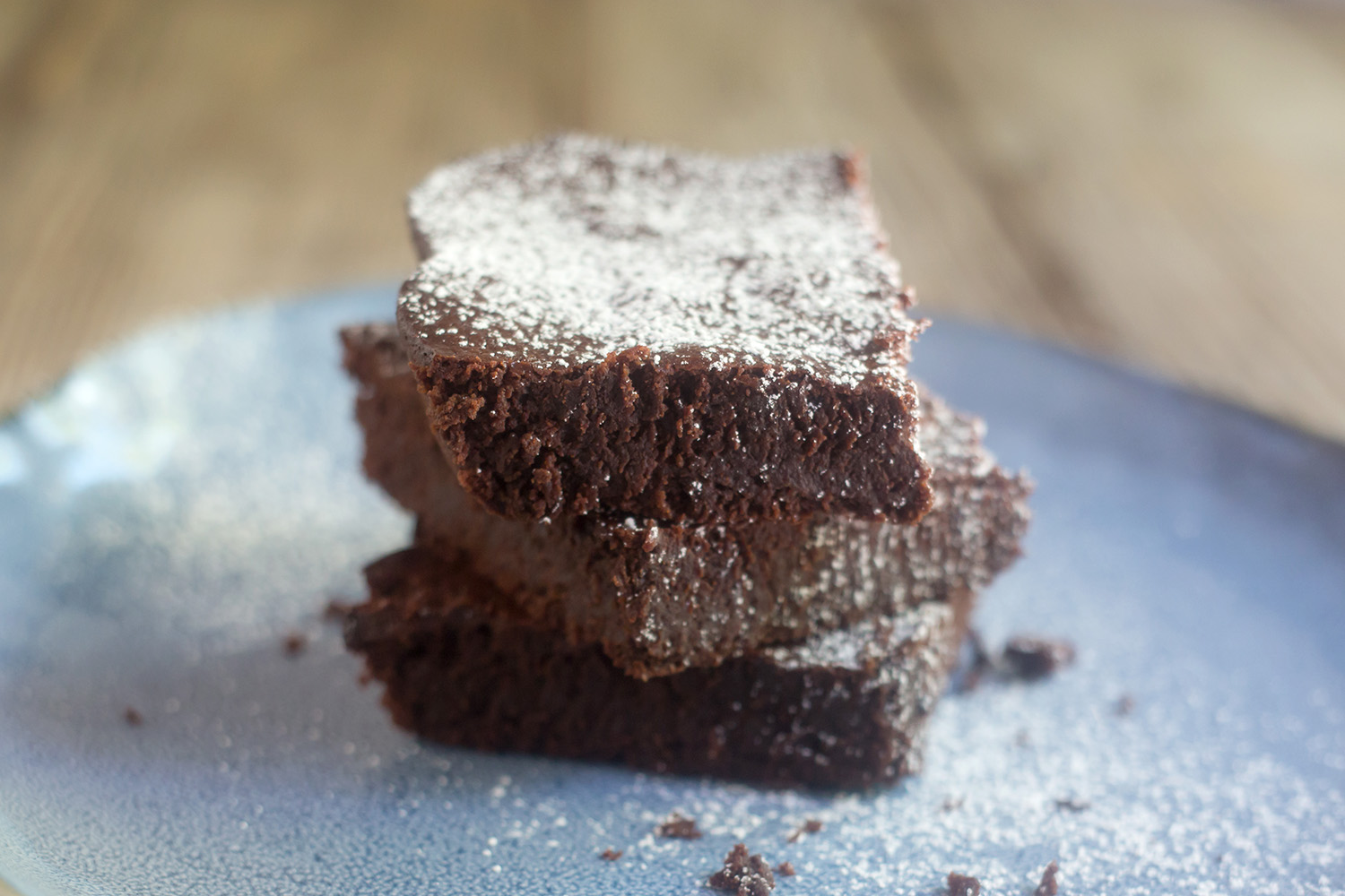 Almond Flour Fudge Brownies