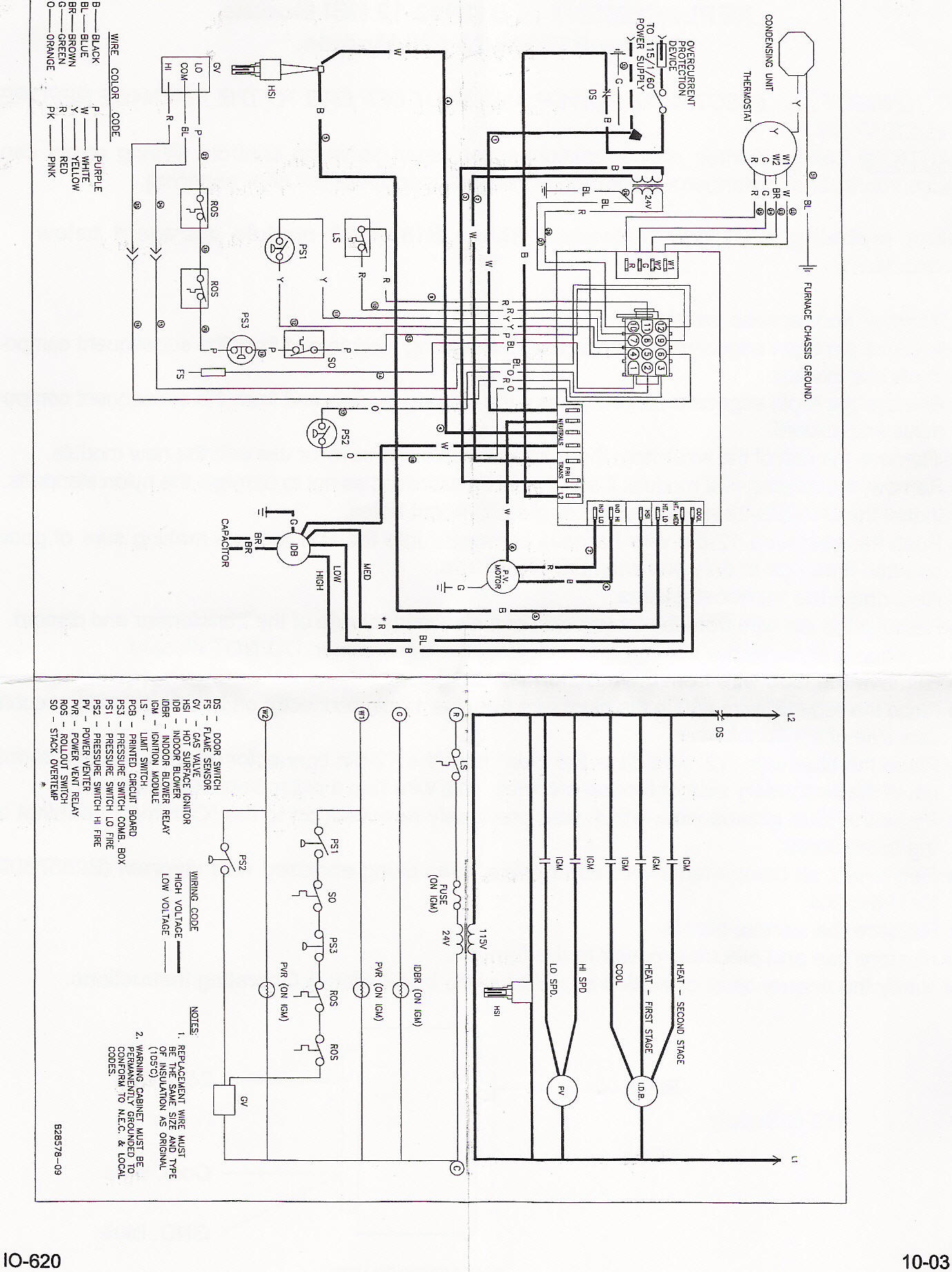 Goodman Control Board B18099-23 Instructions