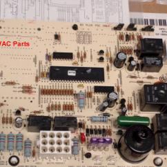 Rheem Wiring Diagram Air Conditioner Ceiling Fan 3 Speed Switch 62-102635-81 Rheem-ruud 80% (2) Stage Heat Control Board