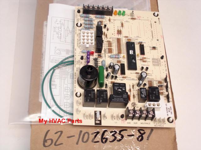 ruud wiring diagram lawn tractor starter solenoid 62-102635-81 rheem-ruud 80% (2) stage heat control board