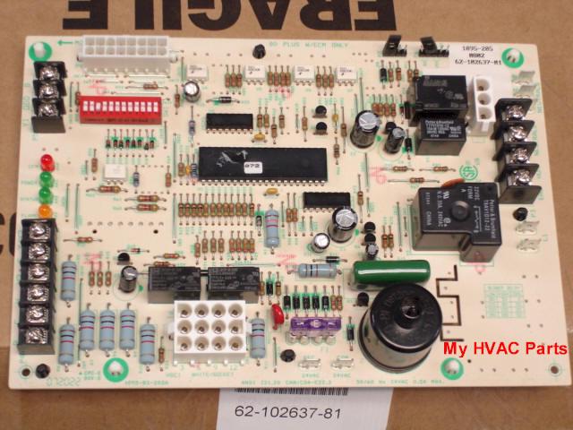 Amana Hvac Wiring Diagrams 62 102635 81 Rheem Ruud 80 2 Stage Heat Control Board