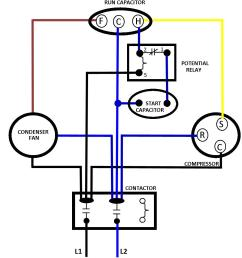 repair or replace compressor wires total performance diagnostic hvac capacitors schematics ac basic wiring [ 1025 x 1132 Pixel ]
