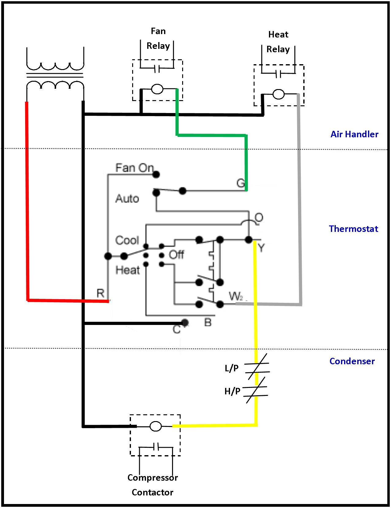 AC low voltage wiring diagram1 hvac relay wiring diagram hvac relay circuit \u2022 free wiring 87A Relay Wiring Diagram at soozxer.org
