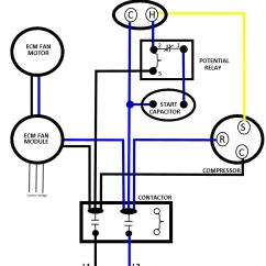 Psc Motor Wiring Diagram Wfco Rv Converter Correct Line Voltage To Ecm Fan  Total Performance
