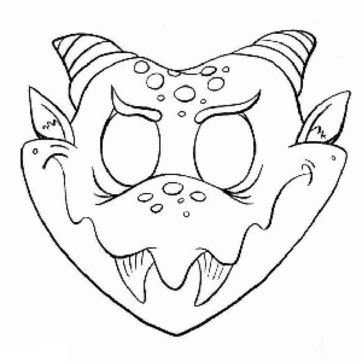 Desenhos Para Colorir De Monstros