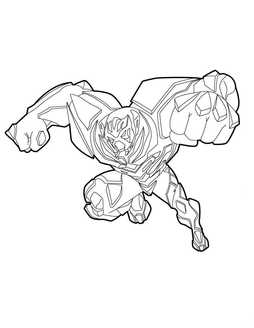 Max Steel Para Pintar