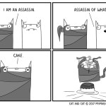 Cat and Cat Comic
