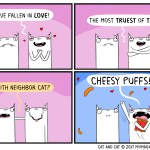 cat comic love