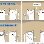 cat comic joke