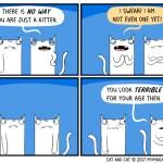 cat comic youth