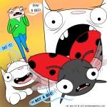 cat comic ladybug