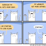 cat comic older