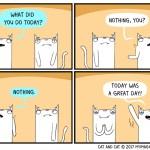 cat comic nothing