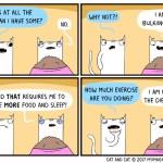Cat coimc bulking up