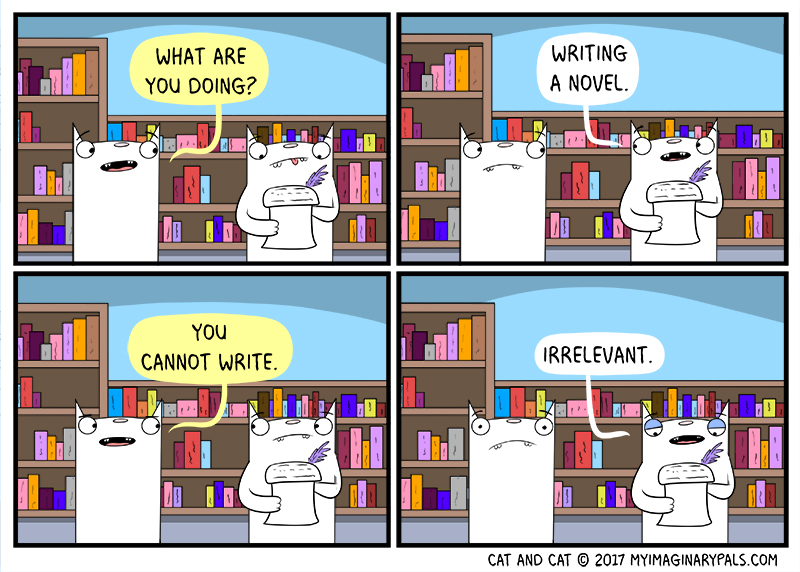 """Cat and Cat in """"Novel"""""""