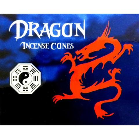 dragon incense cones
