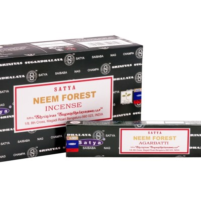 Satya Sai Baba Neem Forest Incense myincensestore.com