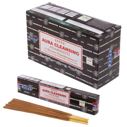 satya sai baba Aura Cleansing incense myincensestore.com