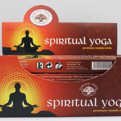 Spiritual Yoga Incense by Green tree by myincensestore.com.au